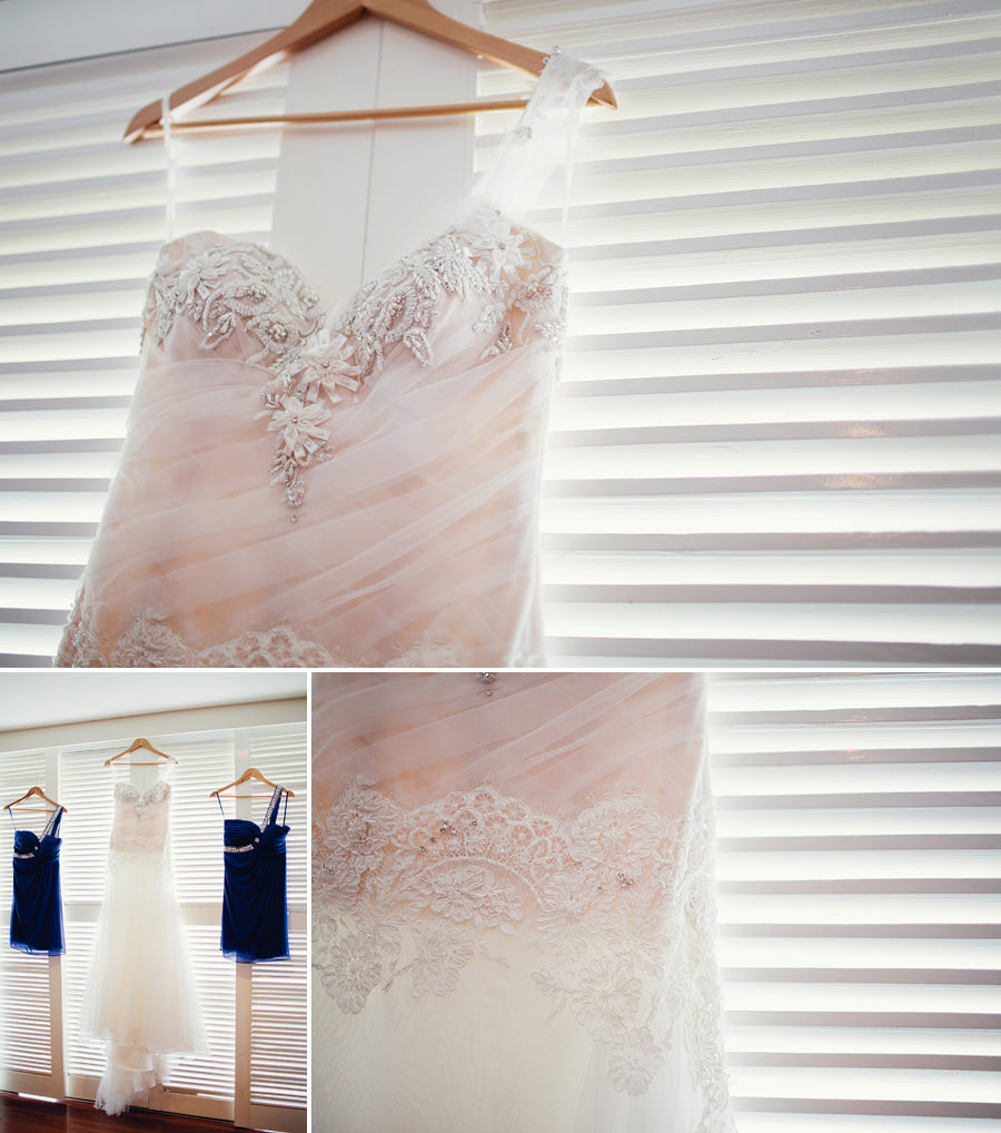 Fiji Wedding Photographer: Bride & bridesmaids dresses