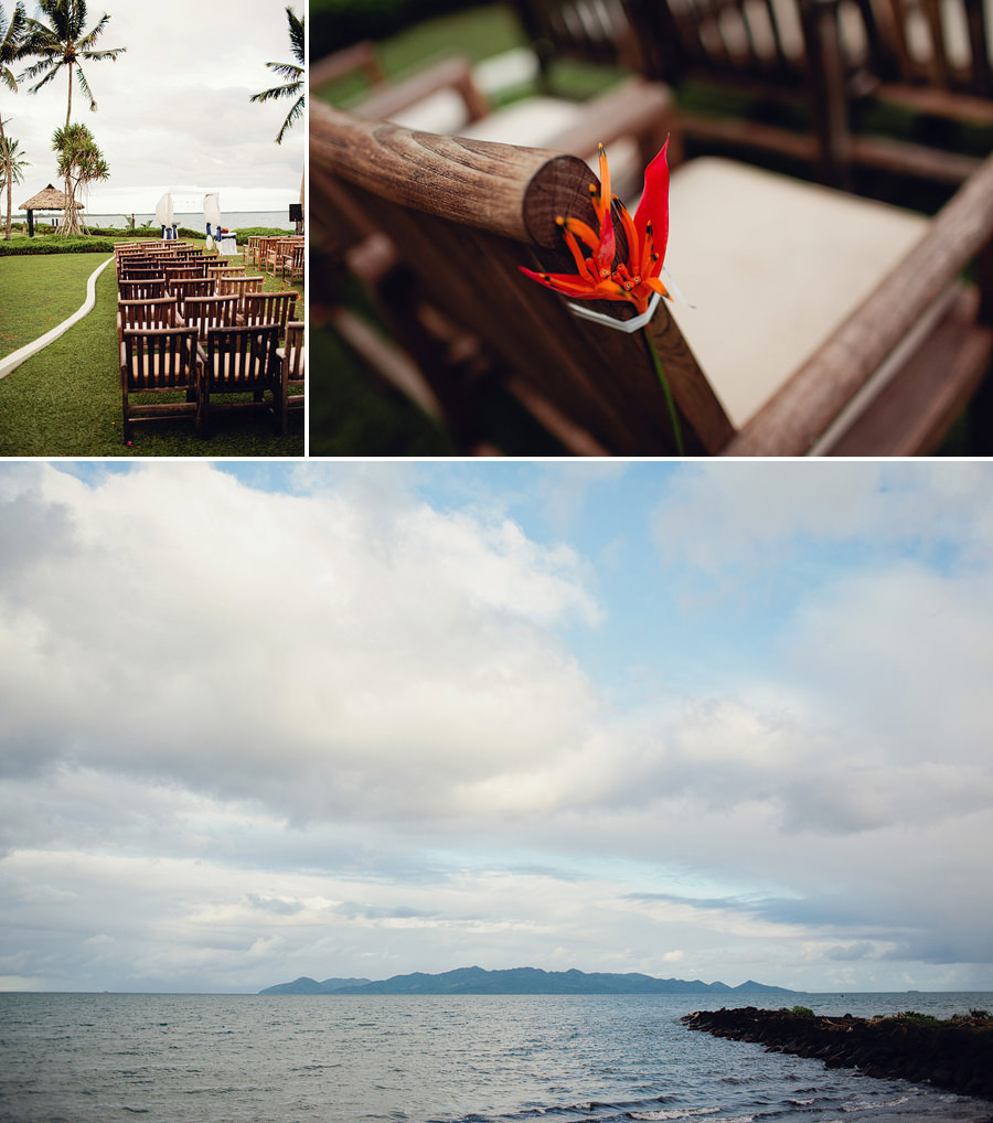 The Pearl Pacific Harbour Wedding Photography: Ceremony decorations