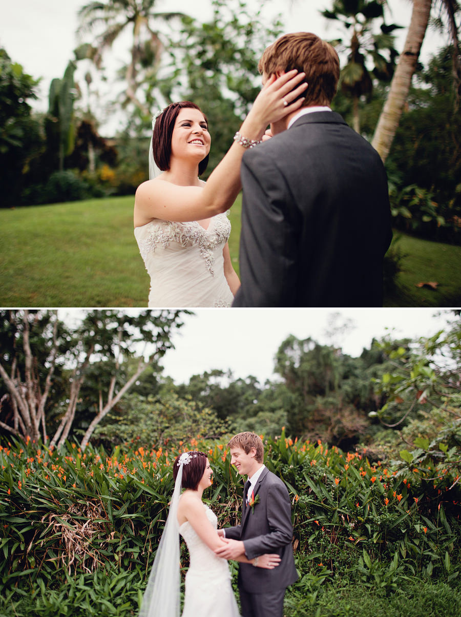 The Pearl South Pacific Wedding Photography: First Look