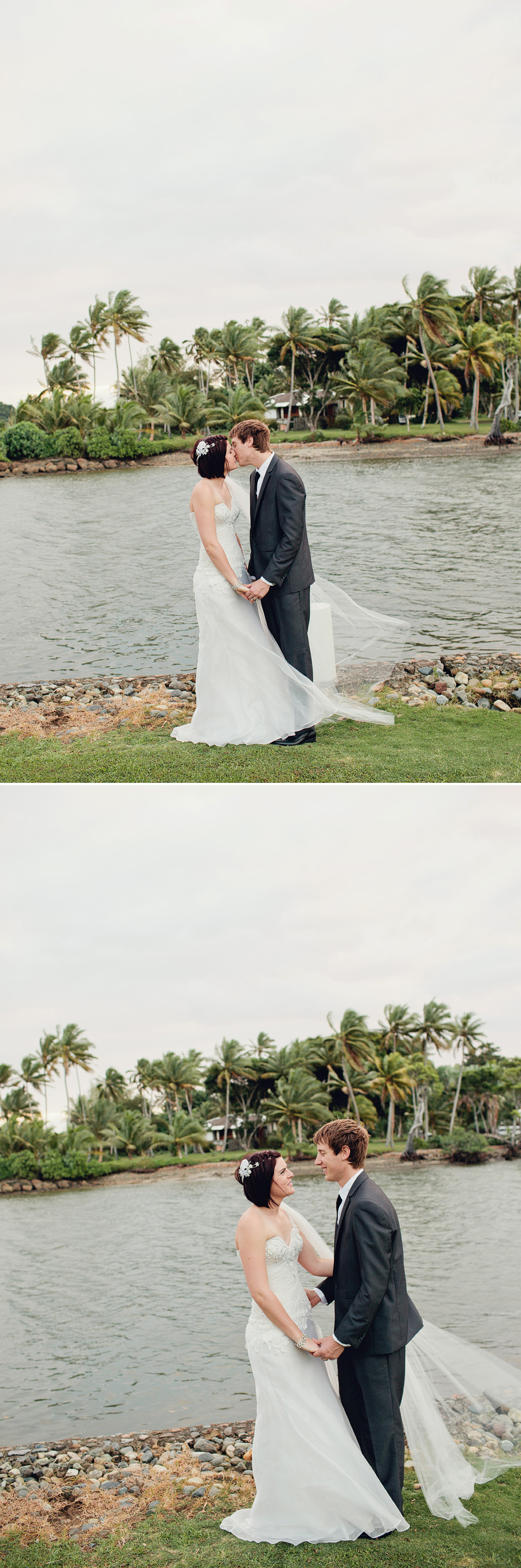 Viti Levu Wedding Photographer: Romantic portraits