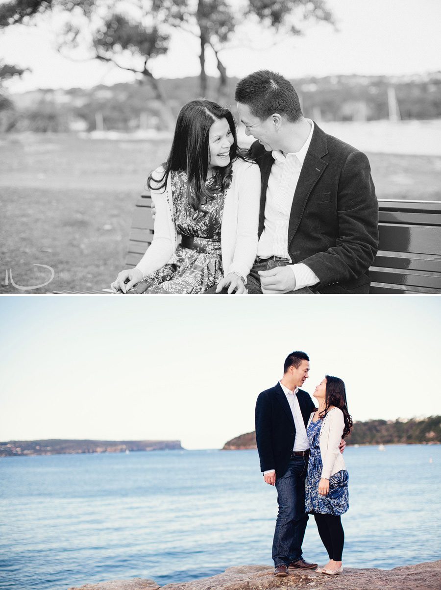 Balmoral Engagement Photography: Middle Harbour