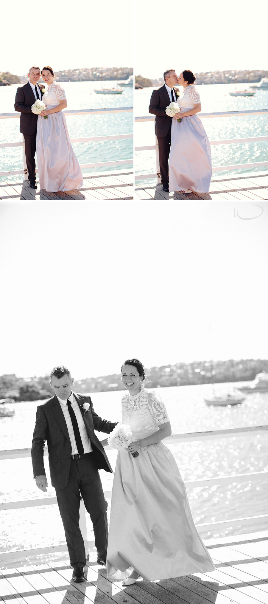 Balmoral Wedding Photography: Waterfront wedding