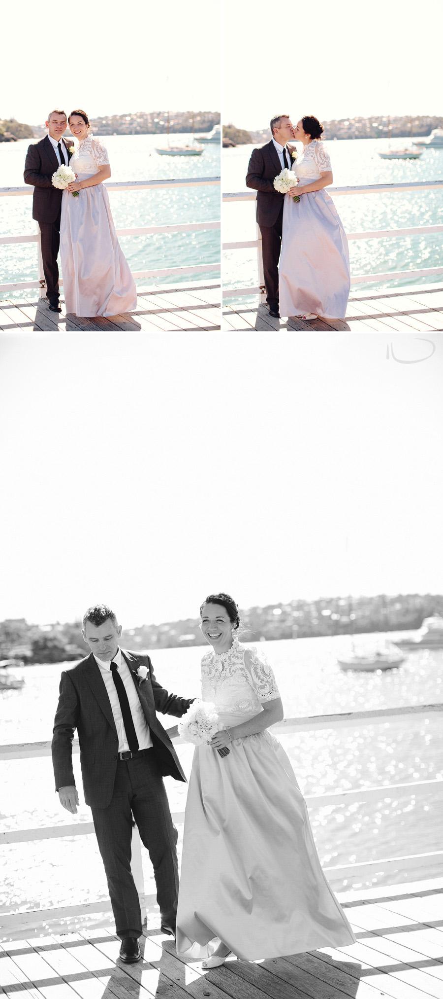 Balmoral Wedding Photography: Waterfront wedding