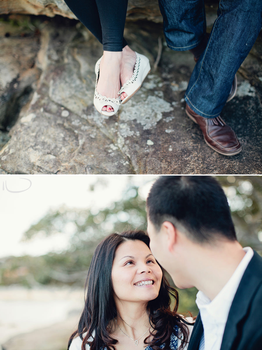 Sydney Engagement Photographer: Balmoral couples session