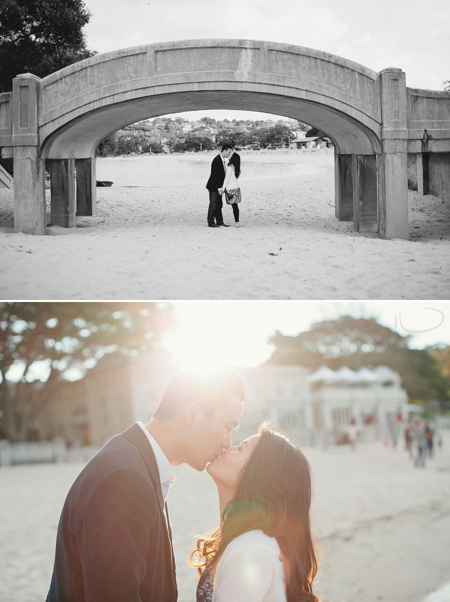 Sydney Engagement Photography: Balmoral Bathers Pavilion