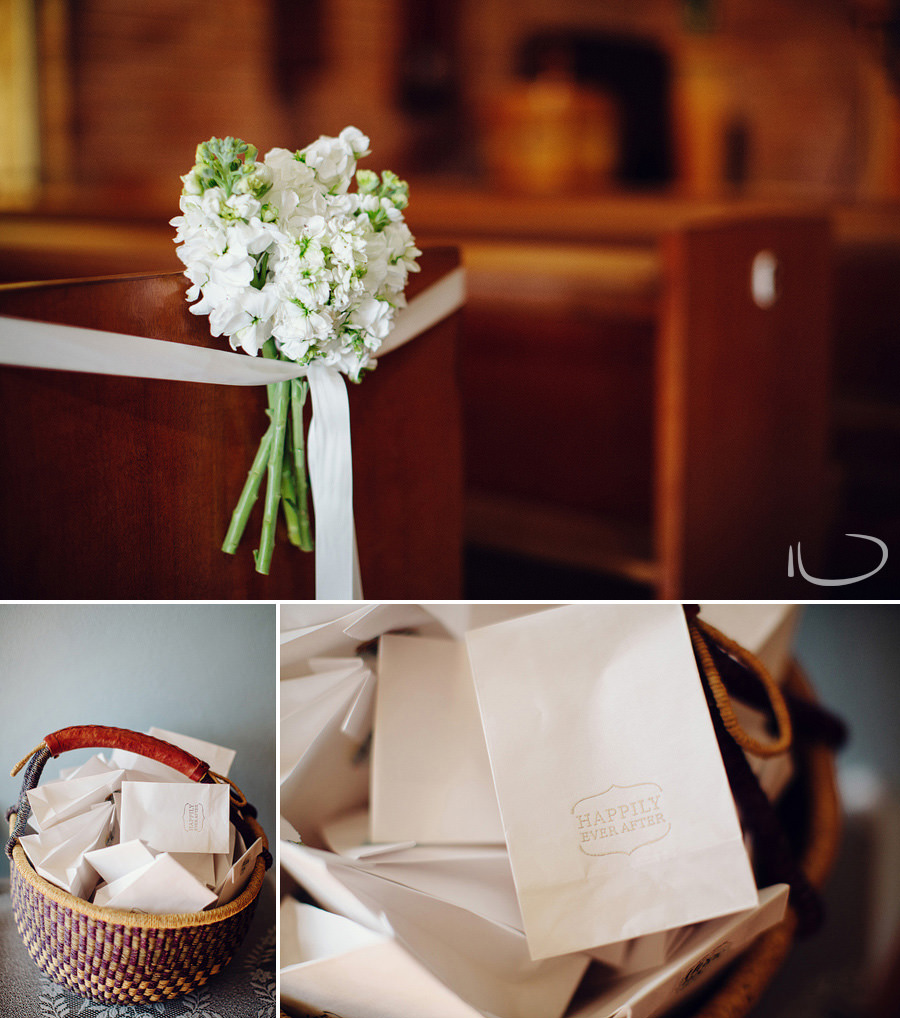 Vaucluse Wedding Photographers: Aisle bouquets