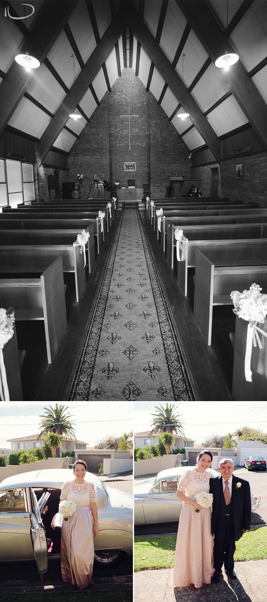 Vaucluse Wedding Photography: Uniting church