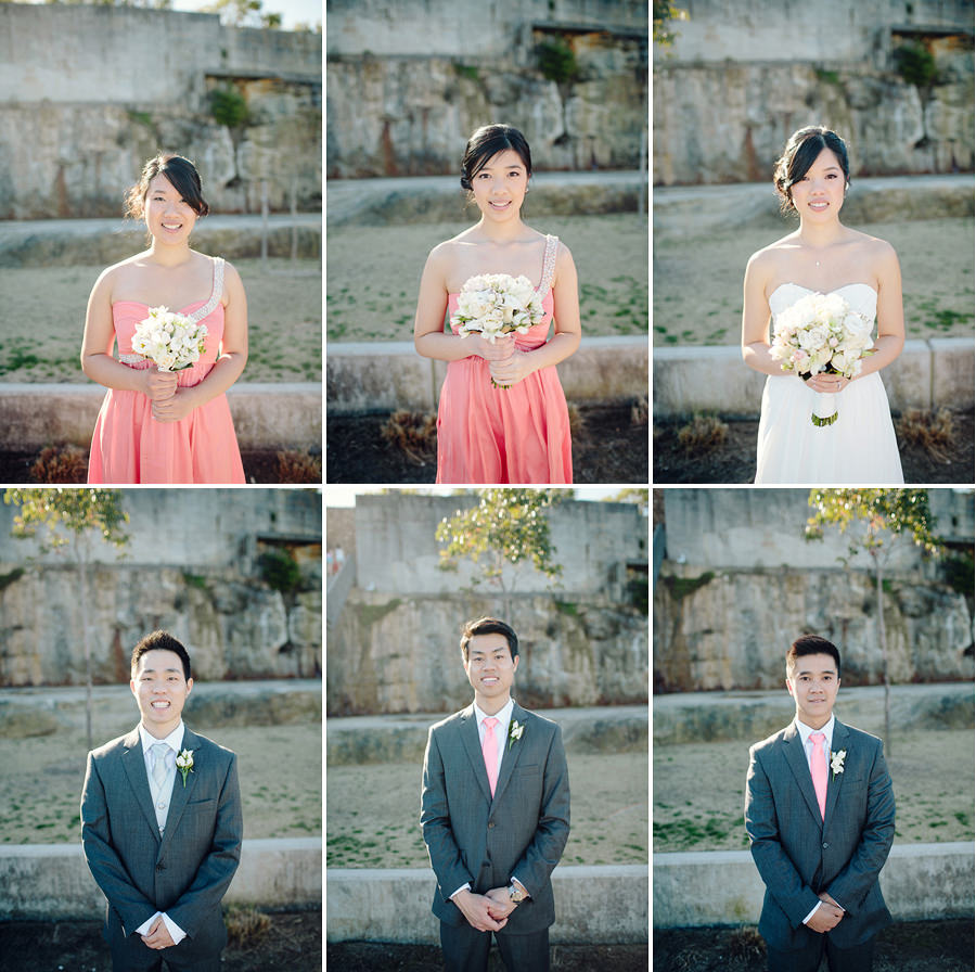 Ballast Point Park Wedding Photographer: Bridal party portraits