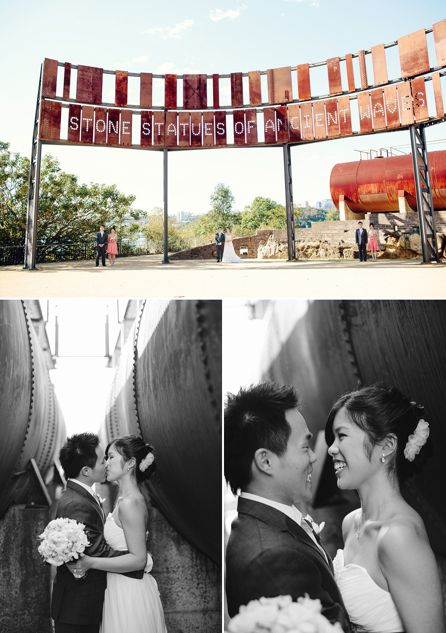 Balmain Wedding Photographer: Ballast Point Park