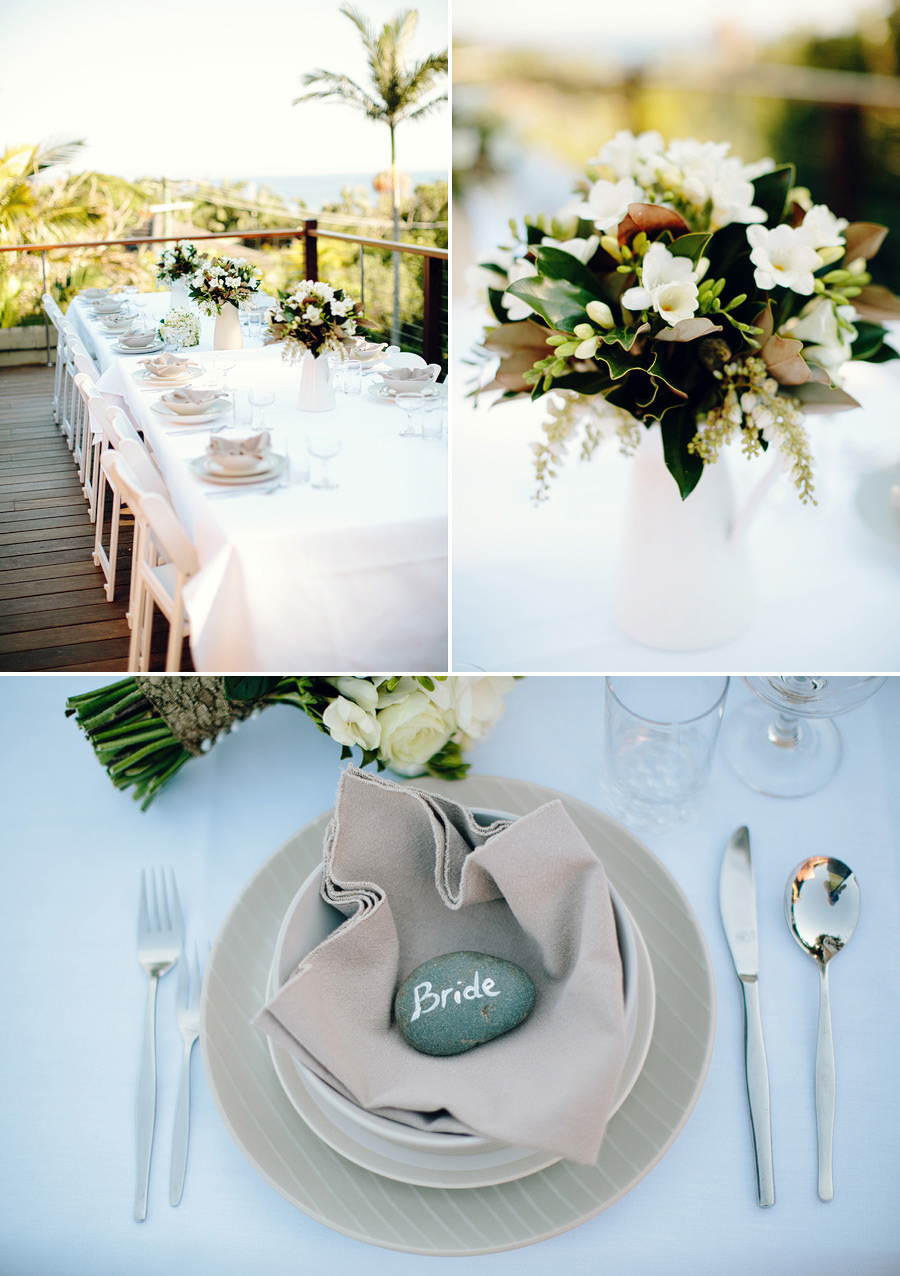 Breakfast Wedding Photographer: Table settings