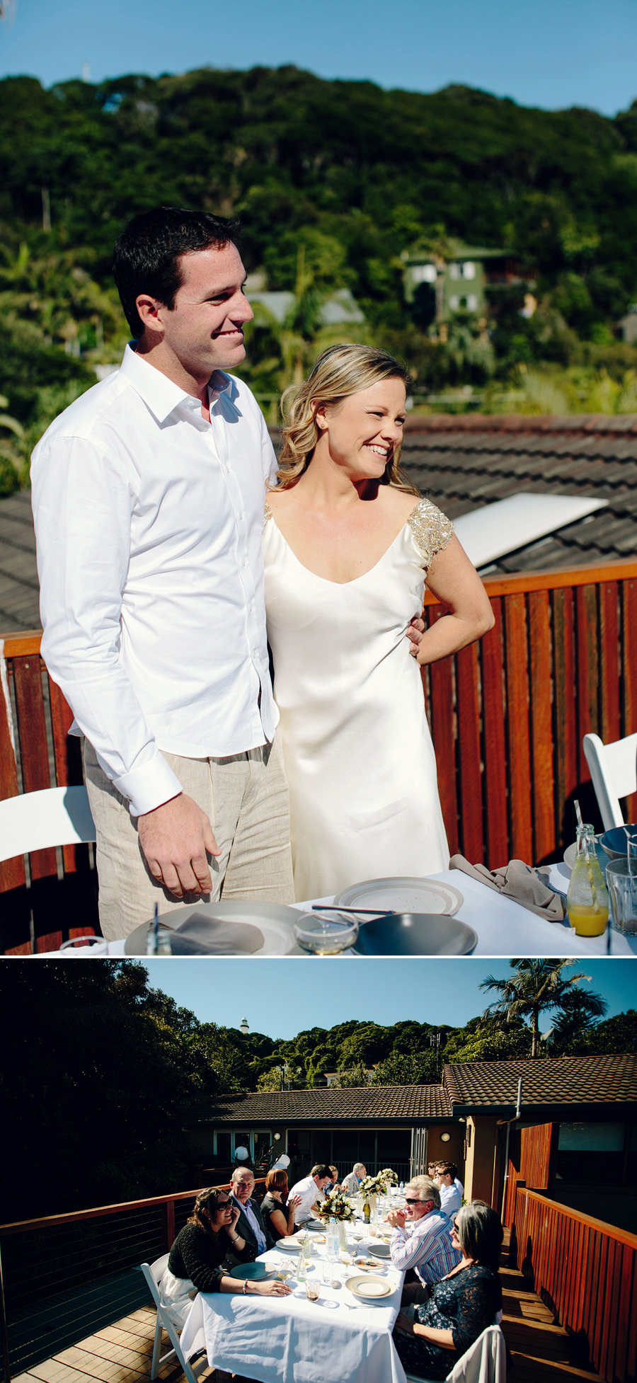 Byron Bay Wedding Photographer: Bride & Groom speech