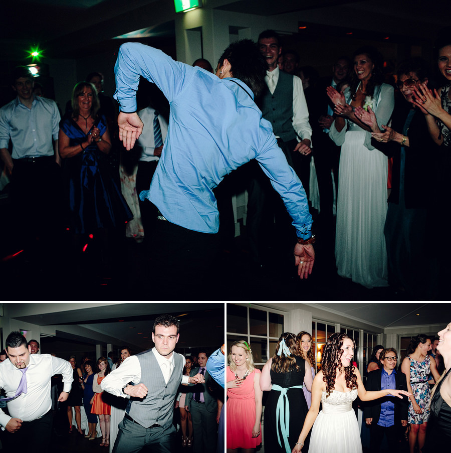 Creative Wedding Photography: Reception dancing