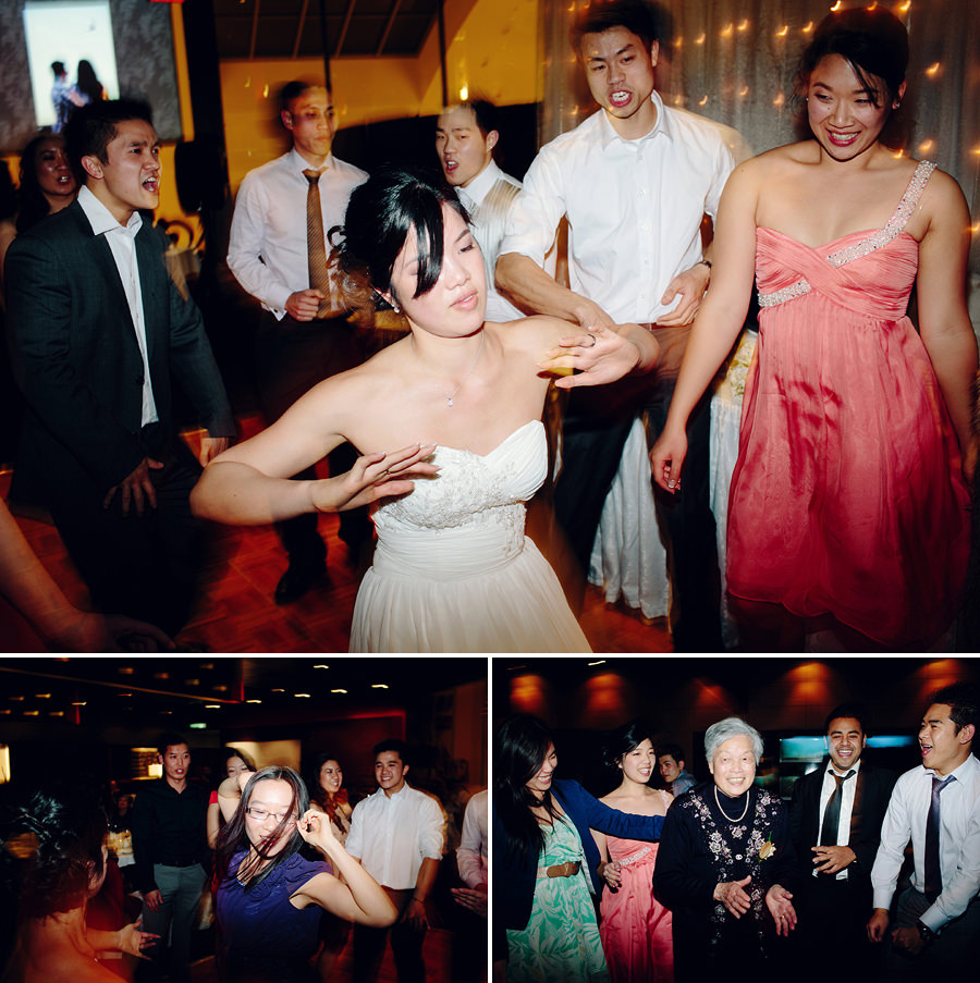 Modern Wedding Photography: Bride dancing