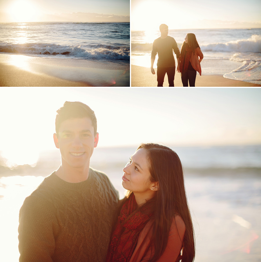 Northern Beaches Engagement Photographers: Sunrise engagement