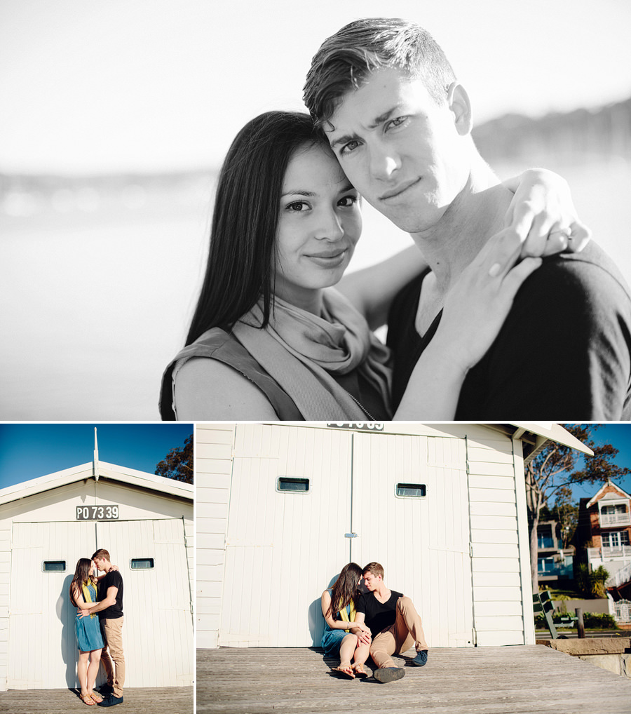 Northern Beaches Wedding Photography: Boat House Engagement Session