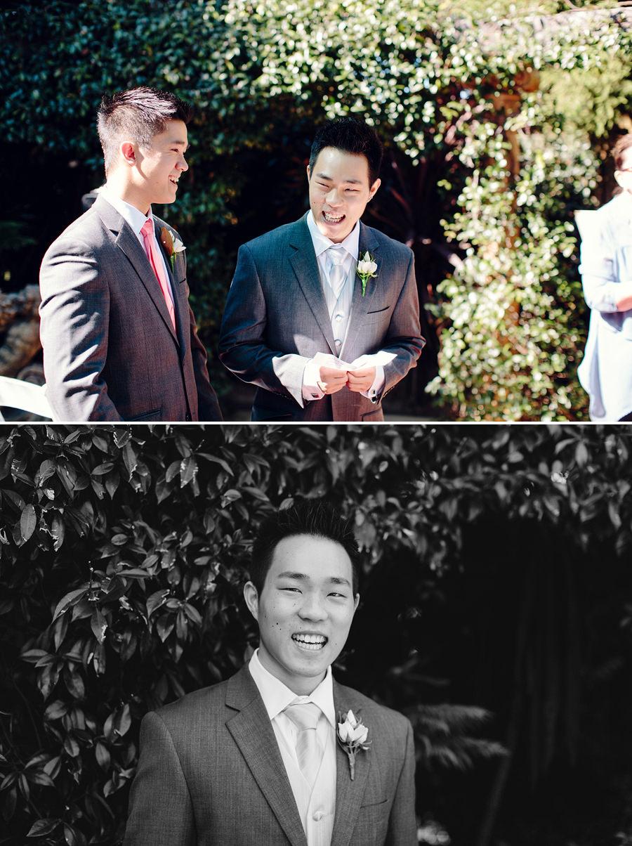 Peakurst Wedding Photography: Groom before ceremony