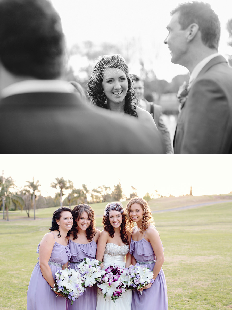 Richmond Wedding Photography: Bride & bridesmaids