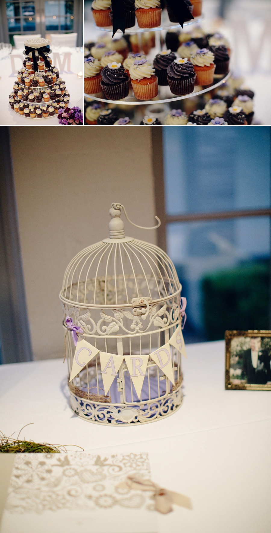 Sebel Gazebo Wedding Photographer: Birdcage wishing well