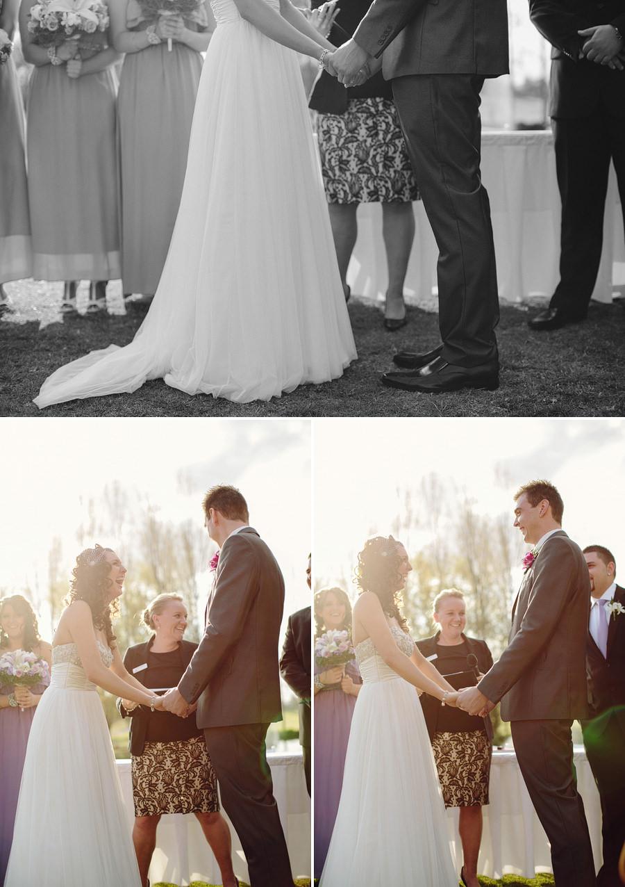 Sebel Hawksbury Valley Wedding Photography: Bride & groom during ceremony