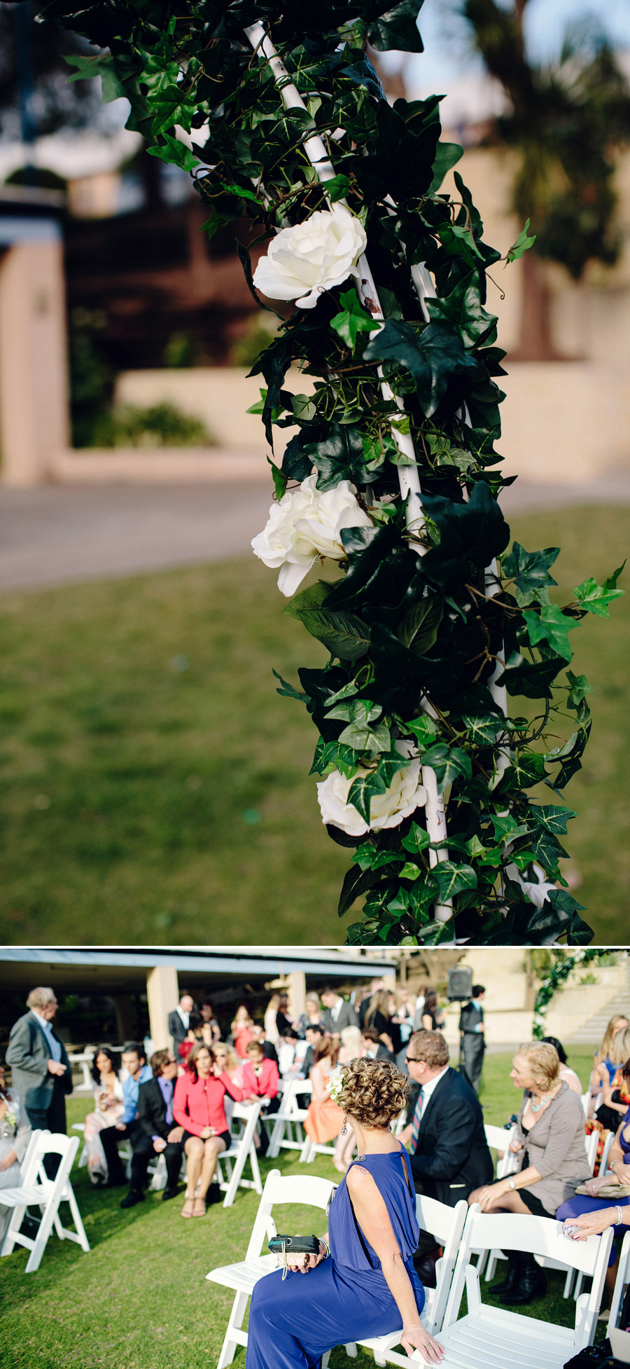 Sebel Wedding Photography: Outdoor ceremony