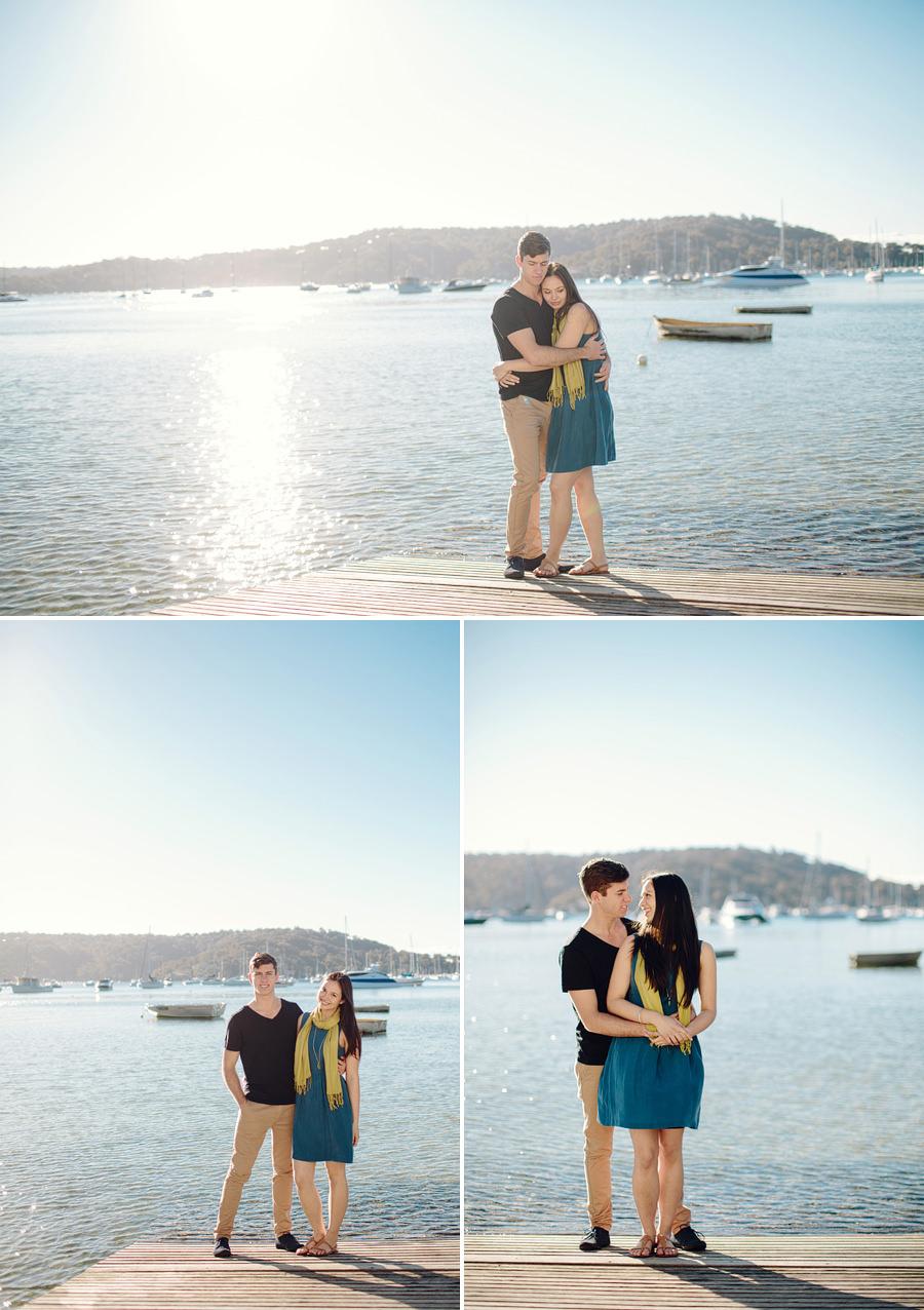 Sydney Engagement Photographer: Pittwater Engagement Session