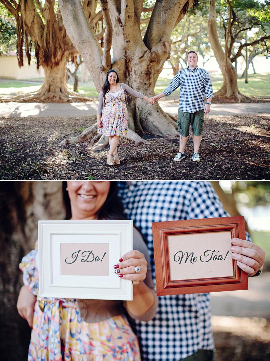 Sydney Engagement Photography: Nielsen Park Vaucluse