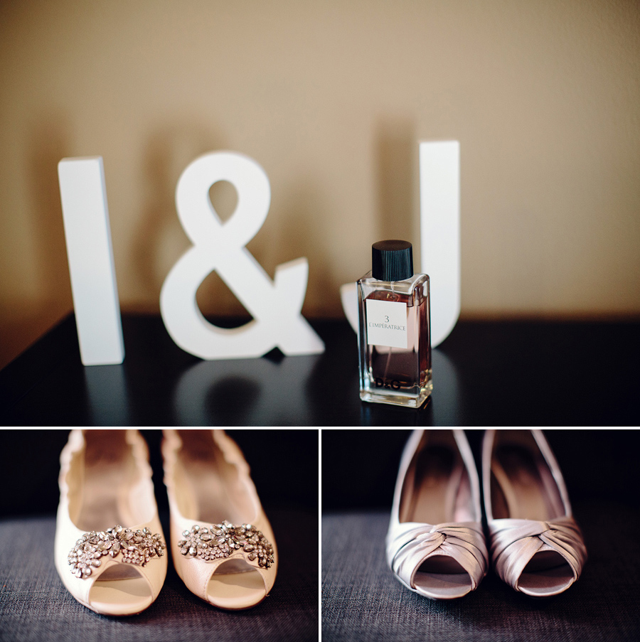 Sydney Wedding Photographers: Shoes & perfume