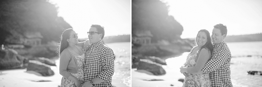 Sydney Wedding Photographers: Beach engagement session
