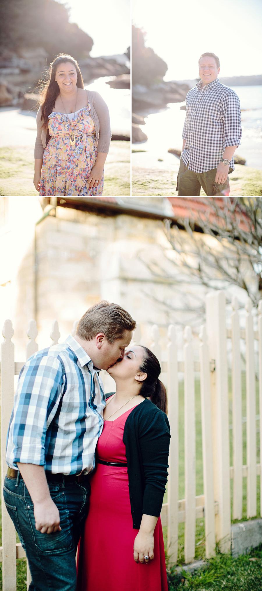 Vaucluse Engagement Photographer: Nielsen Park