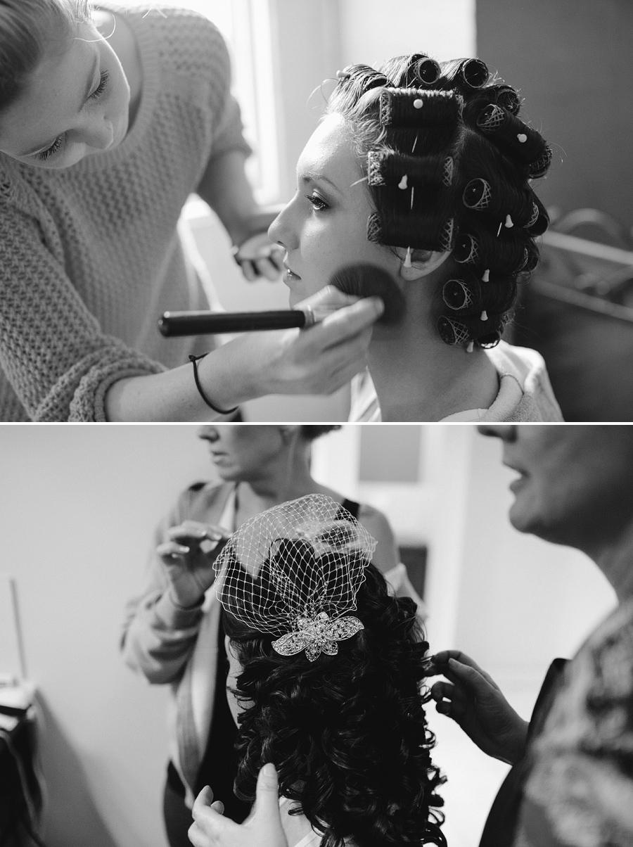 Windsor Wedding Photography: Hair & makeup