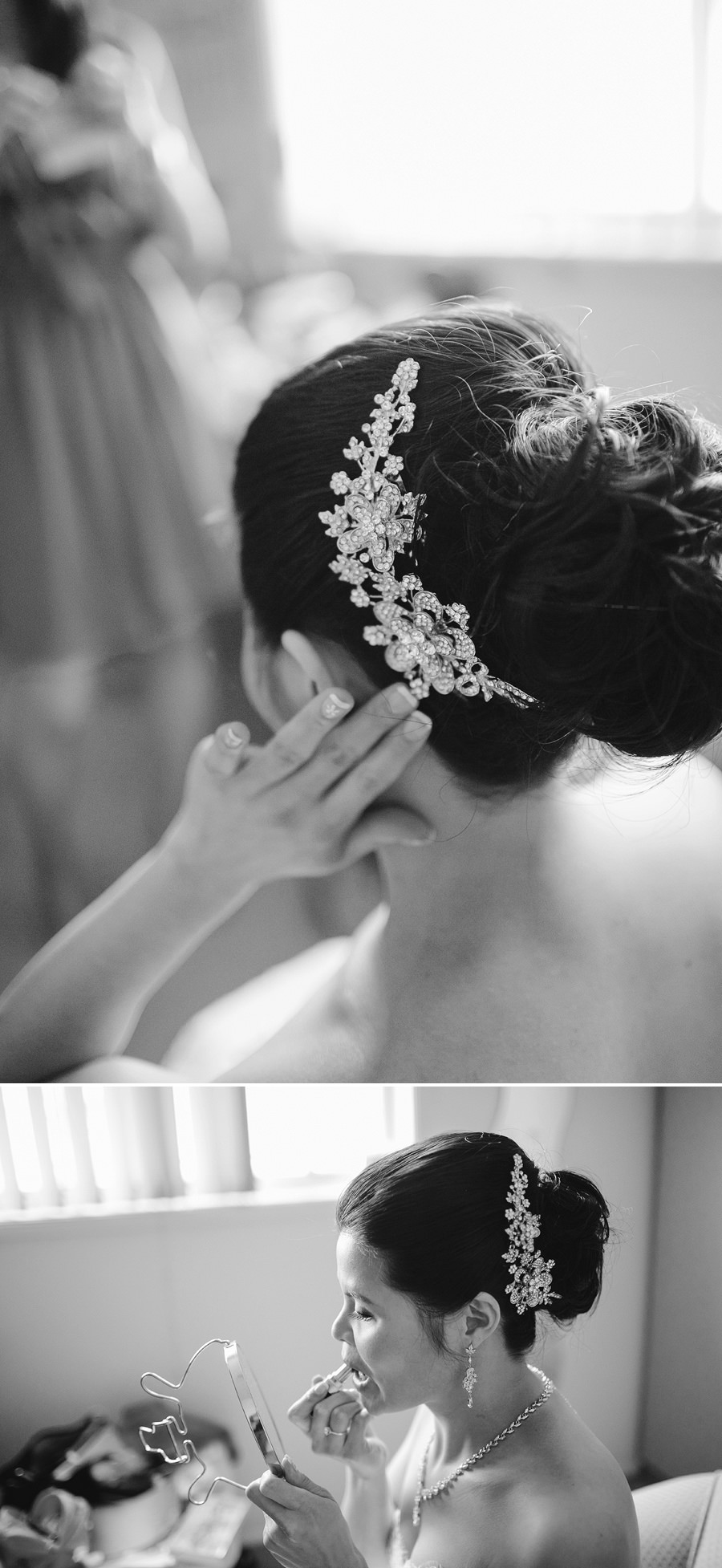 Asian Wedding Photographers: Bride getting ready