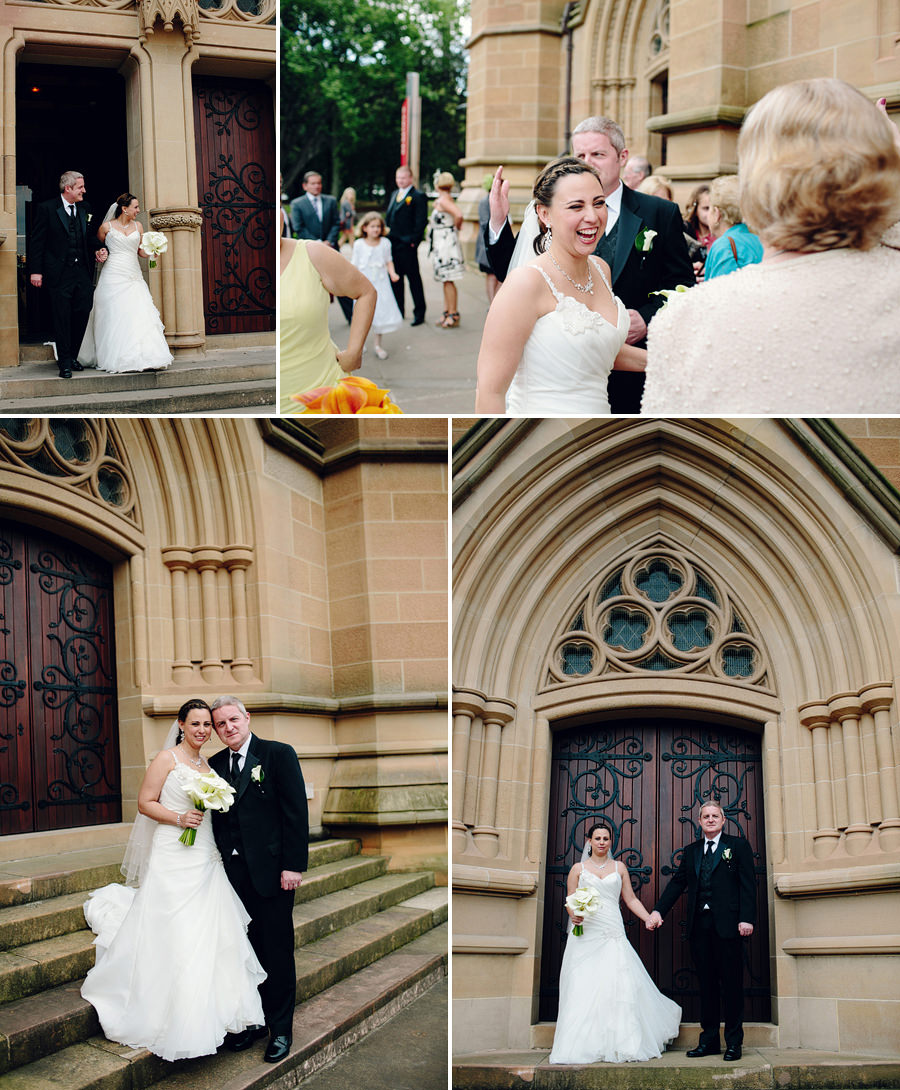 Catholic Wedding Photographer: Bride & Groom portraits
