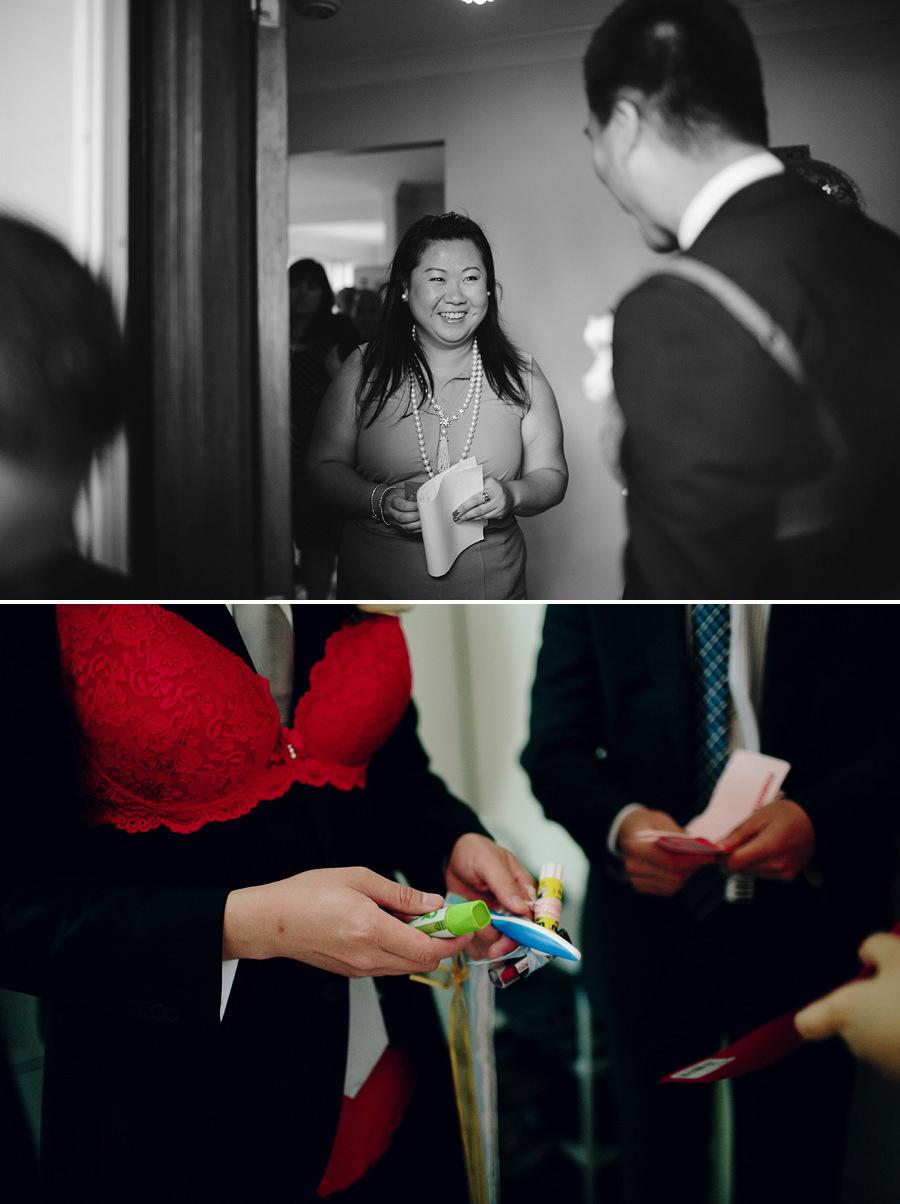 Chinese Door Games Wedding Photographer: Door games