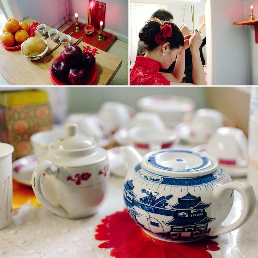 Chinese Wedding Photography: Ancestor worship