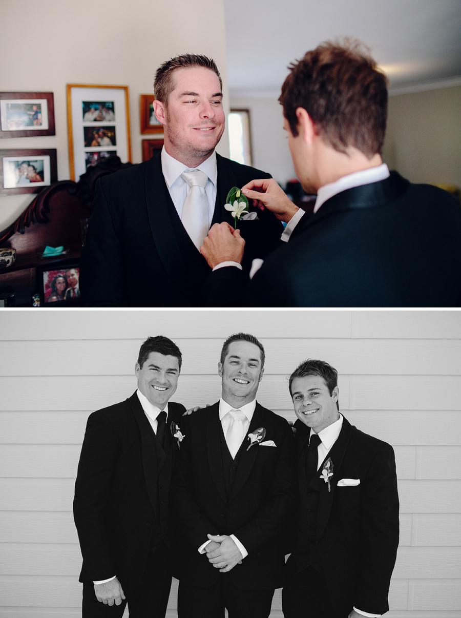 Cudal Wedding Photographer: Groom getting ready