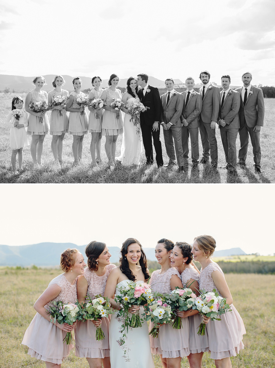 Elegant Wedding Photographers: Bridal party