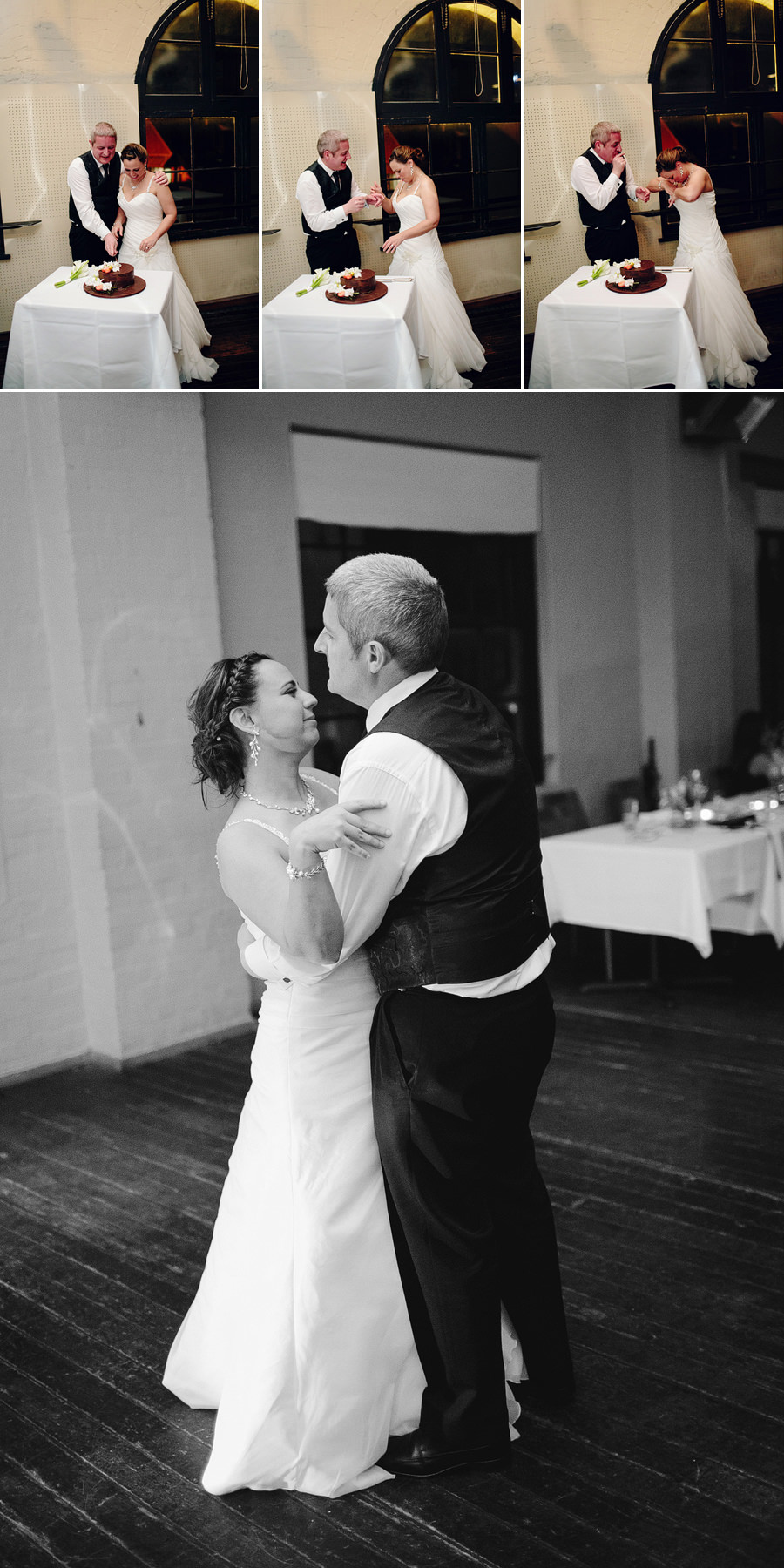 Fun Wedding Photographer: Bridal waltz