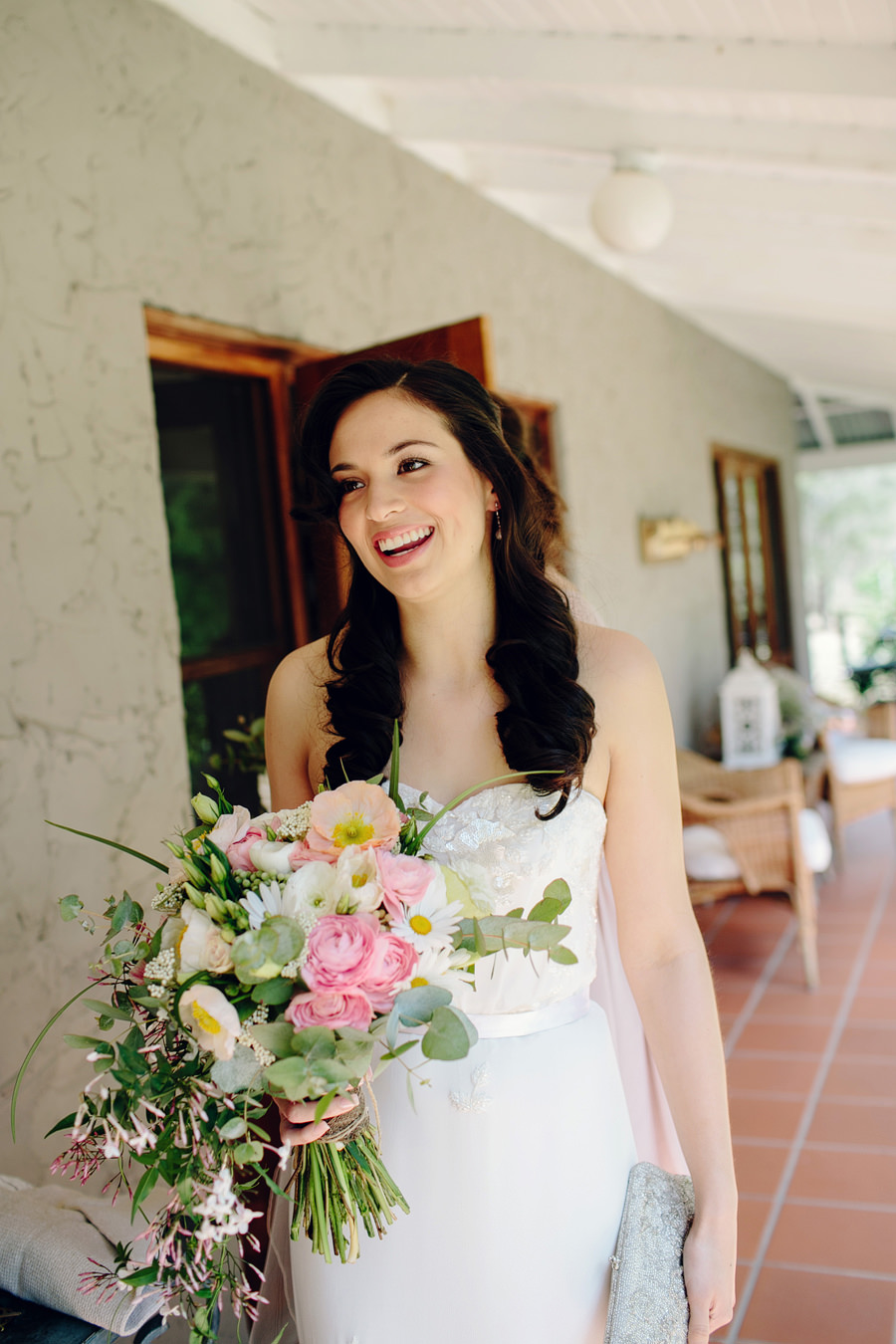 Hunter Valley Wedding Photography: Bride leaving for ceremony