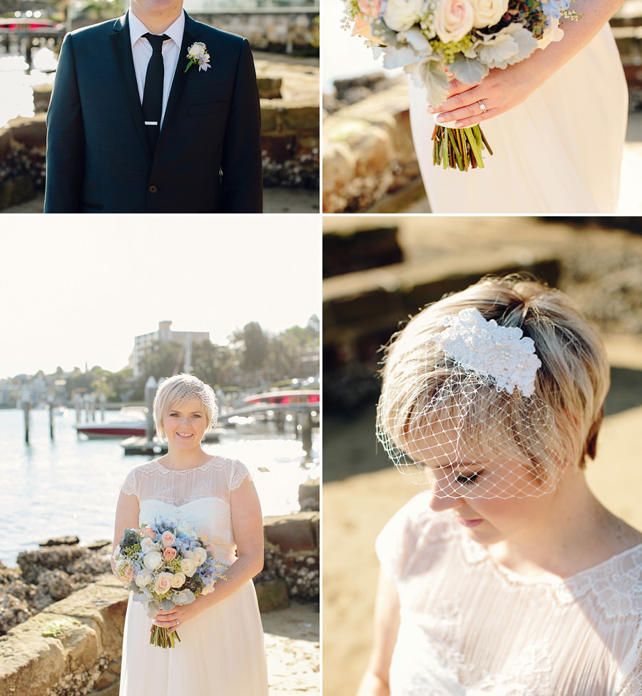 Illoura Reserve Balmain Wedding Photographer: Bride & Groom portraits