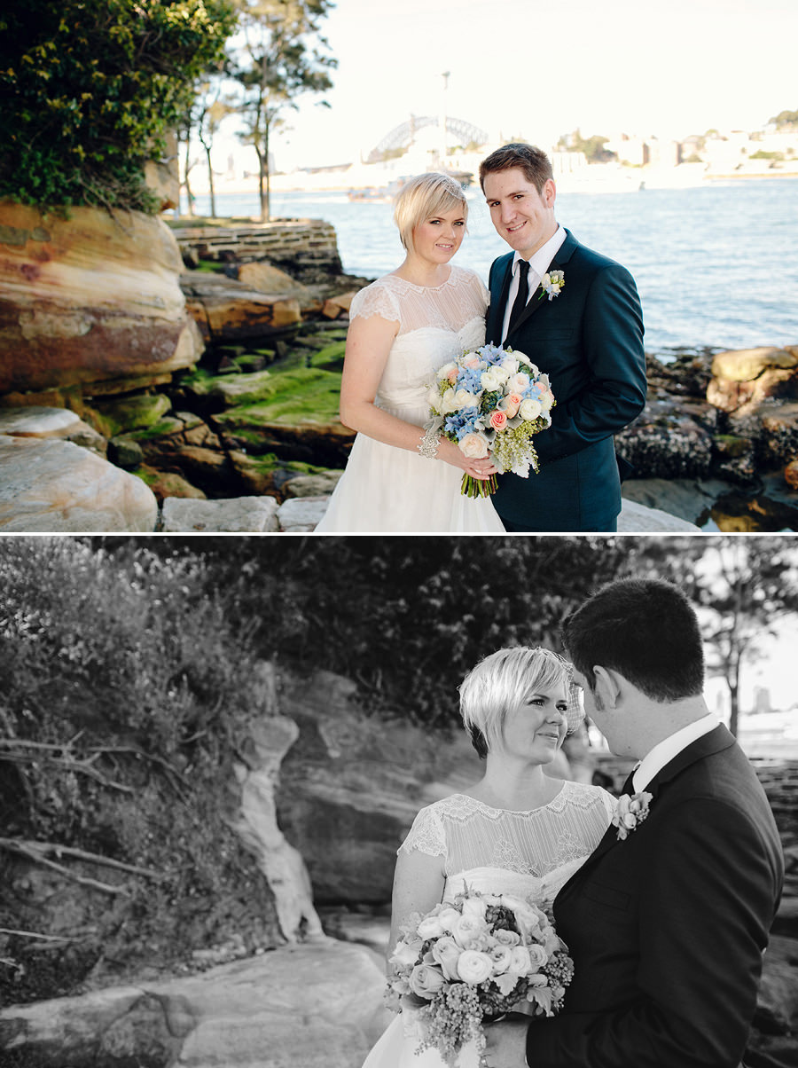 Illoura Reserve Balmain Wedding Photographers: Bride & Groom portraits