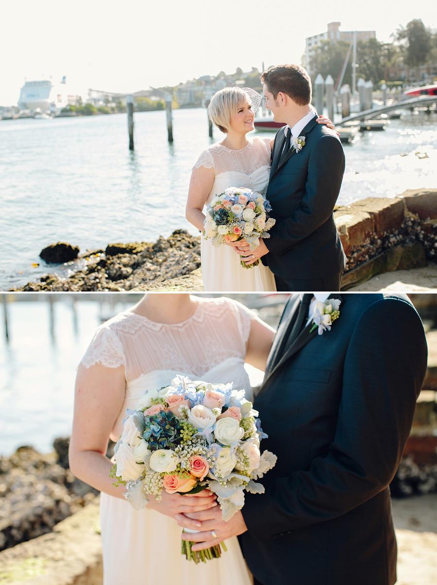 Inner West Wedding Photography: Bride & Groom portraits
