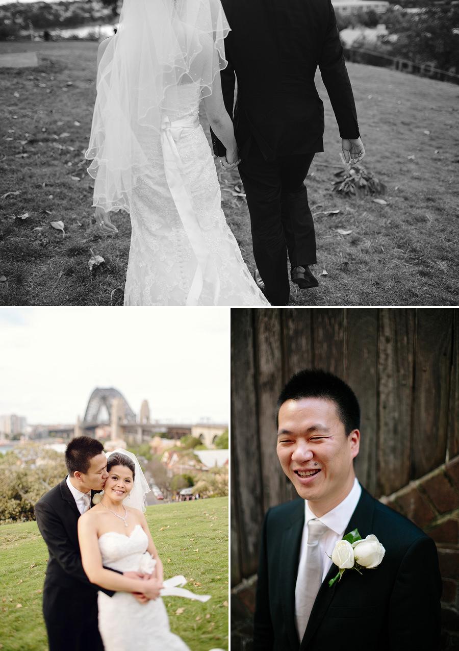 Observatory Hill Wedding Photographer: Bride & groom portraits