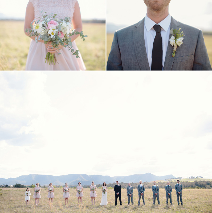 Pokolbin Wedding Photographer: Bouquet & buttonhole