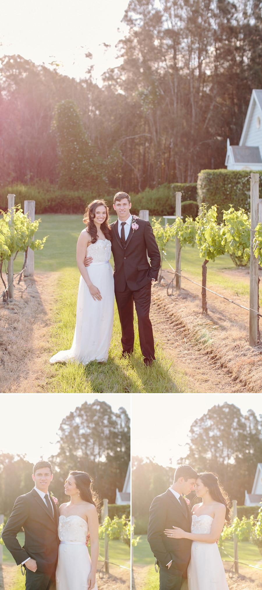 Pokolbin Wedding Photography: Vineyard portraits