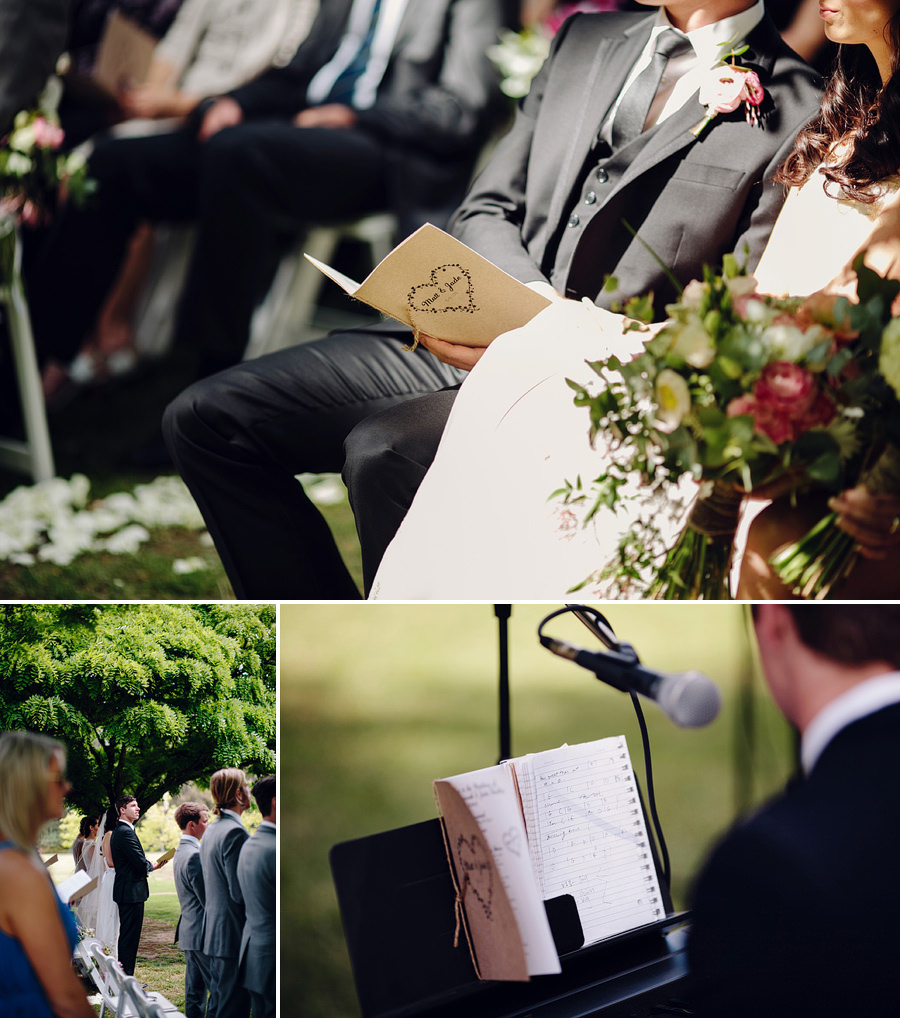 Circa 1876 Hunter Valley Wedding Photographers: Ceremony details