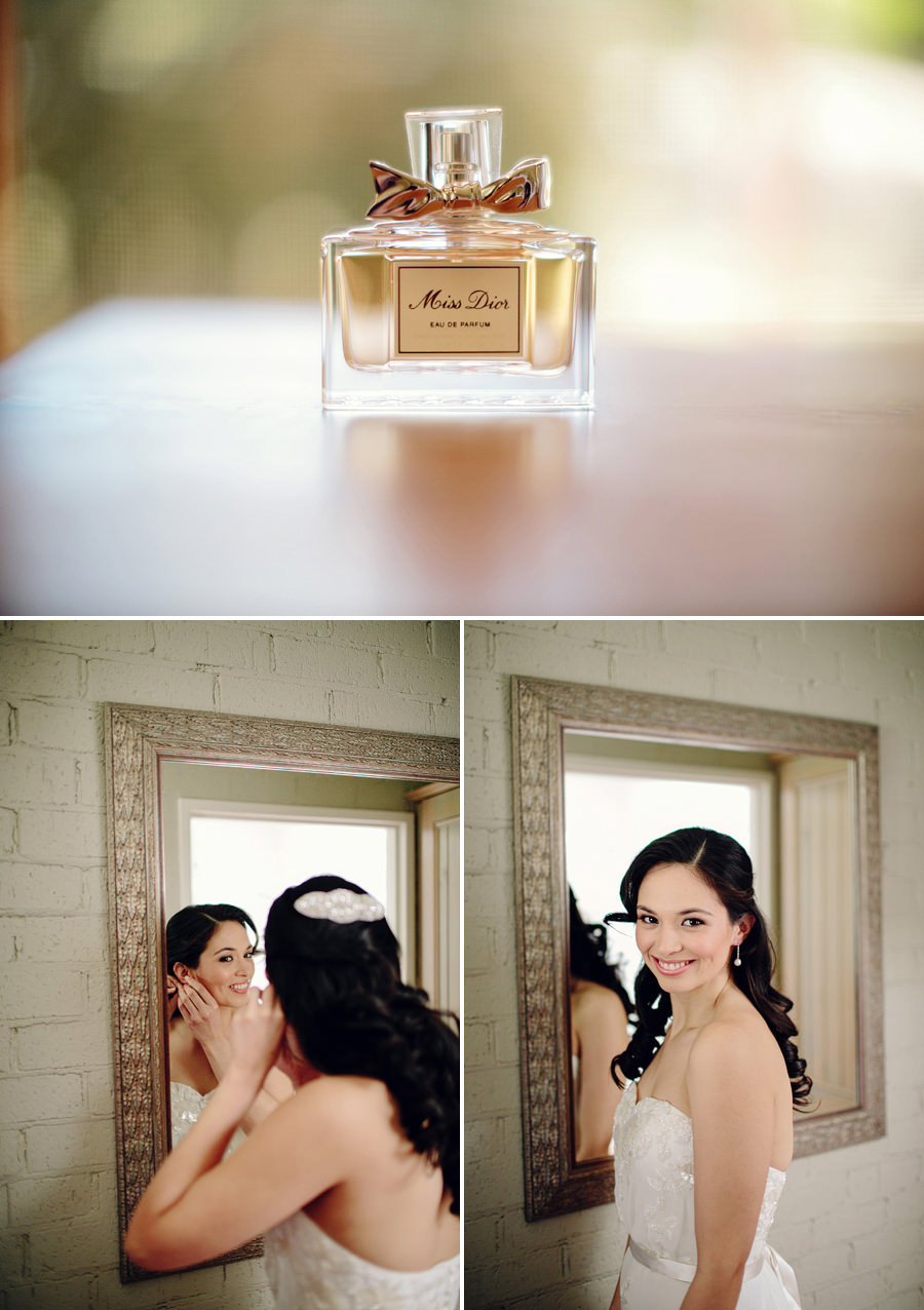 Romantic Wedding Photographer: Bride getting ready