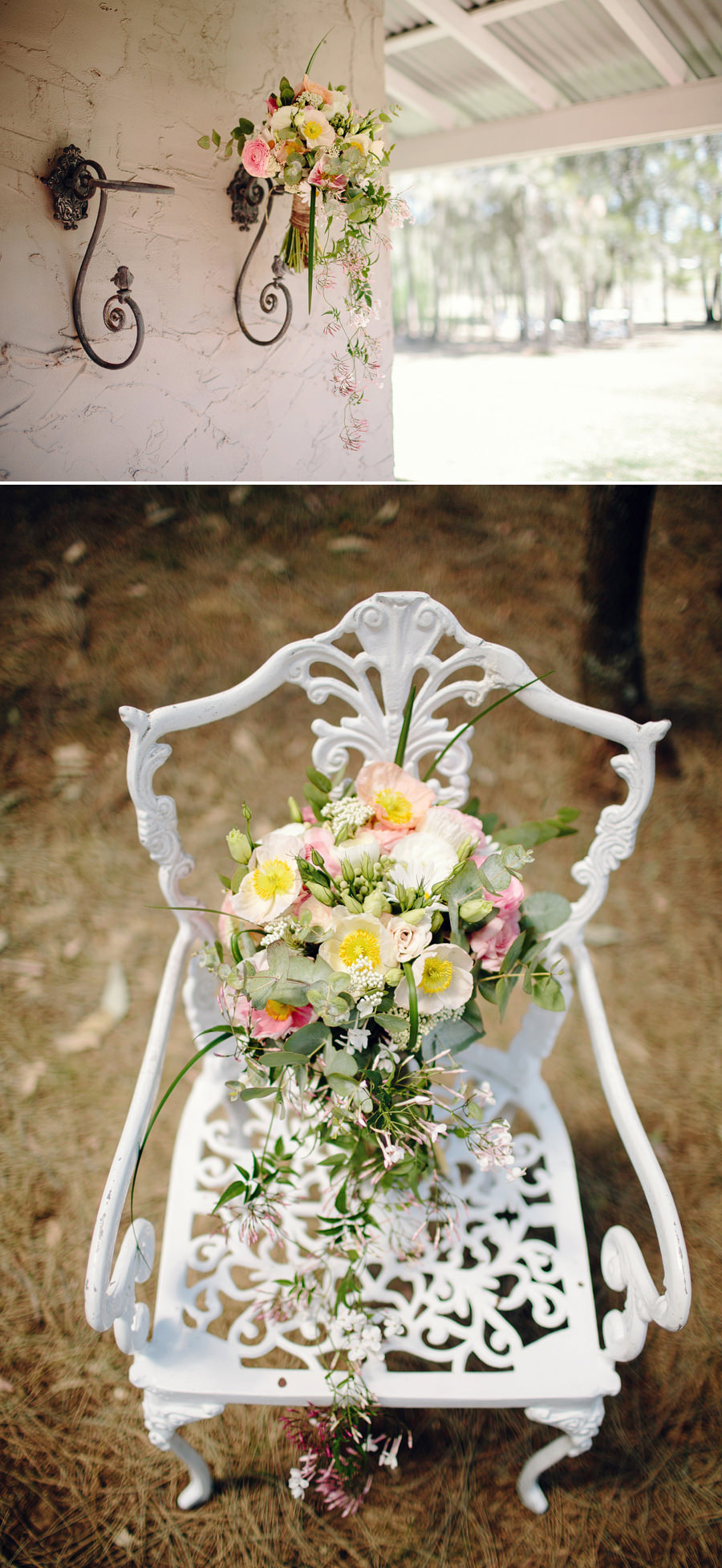 Rustic Wedding Photographers: Bride's bouquet