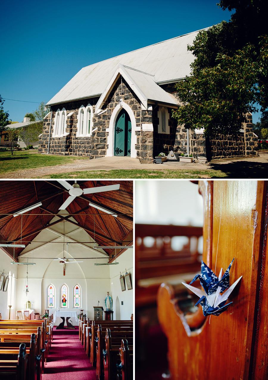 St Columbanus Wedding Photographer: Ceremony