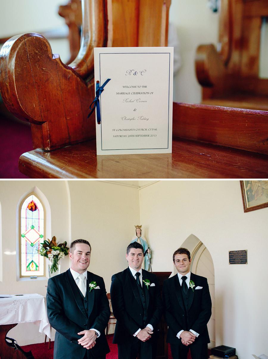 St Columbanus Wedding Photographers: Ceremony