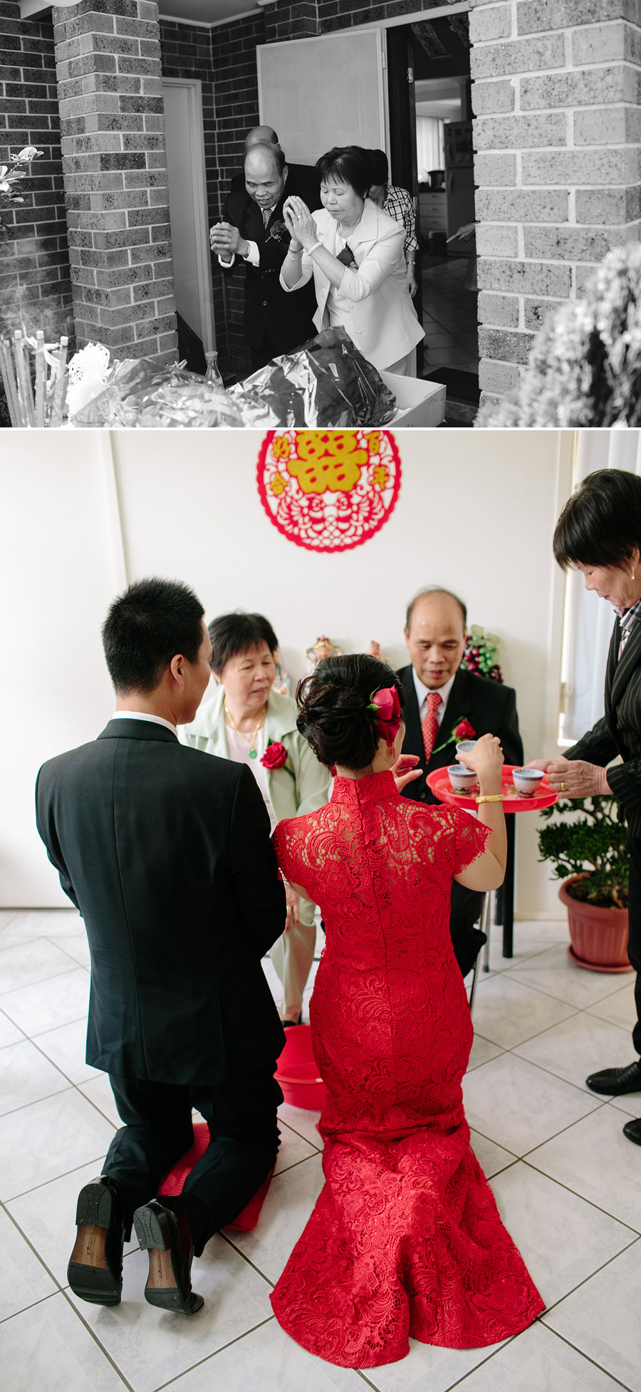 Sydney Chinese Wedding Photography: Tea ceremony